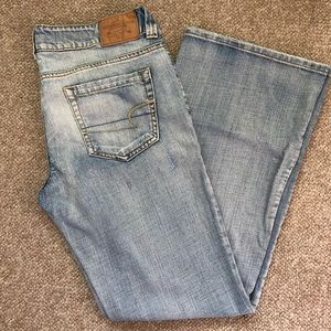 American Eagle Jeans size 12R Boyfriend 77